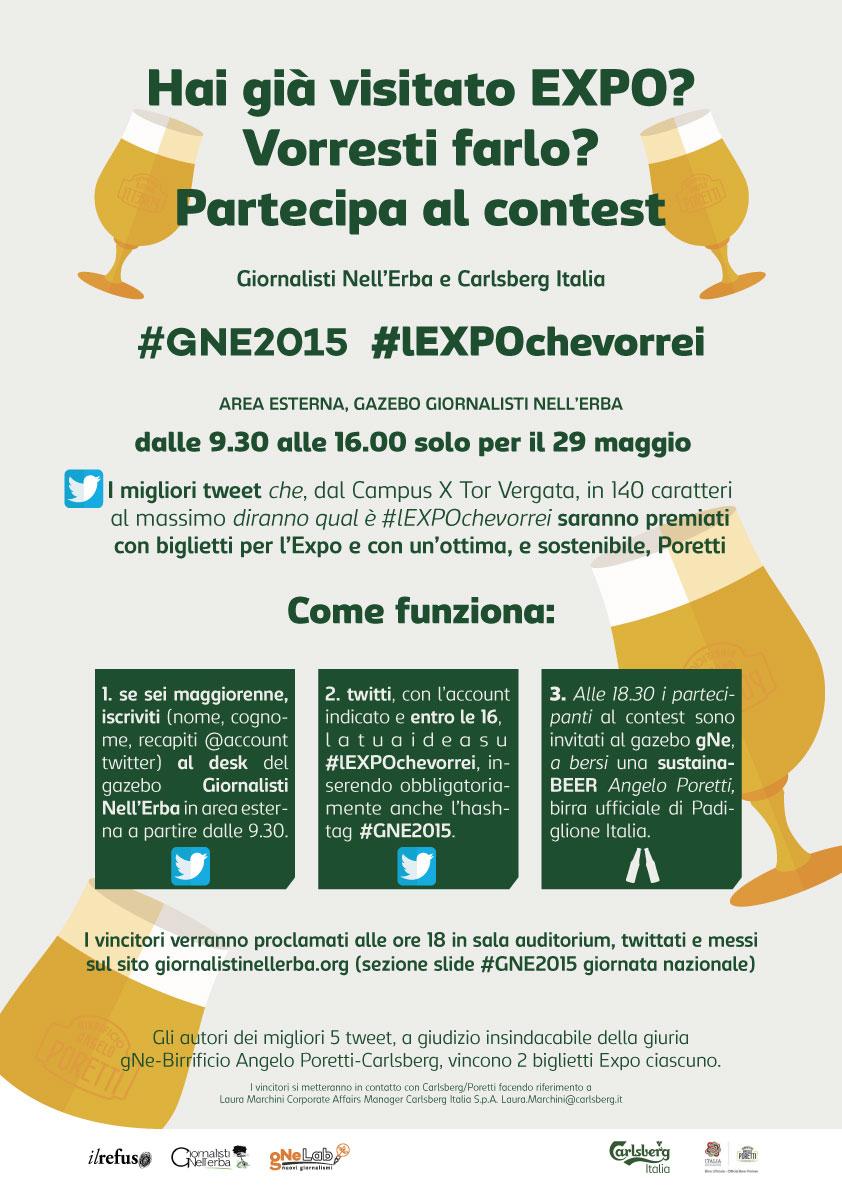 #GNE2015  – Contest #lEXPOCHEVORREI | news