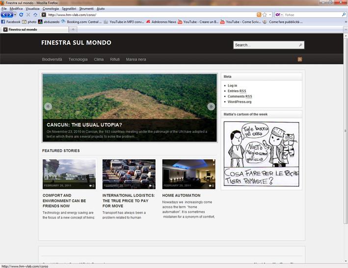 Finestra sul mondo il sito web fatto dai gne - Finestra sul mondo ...